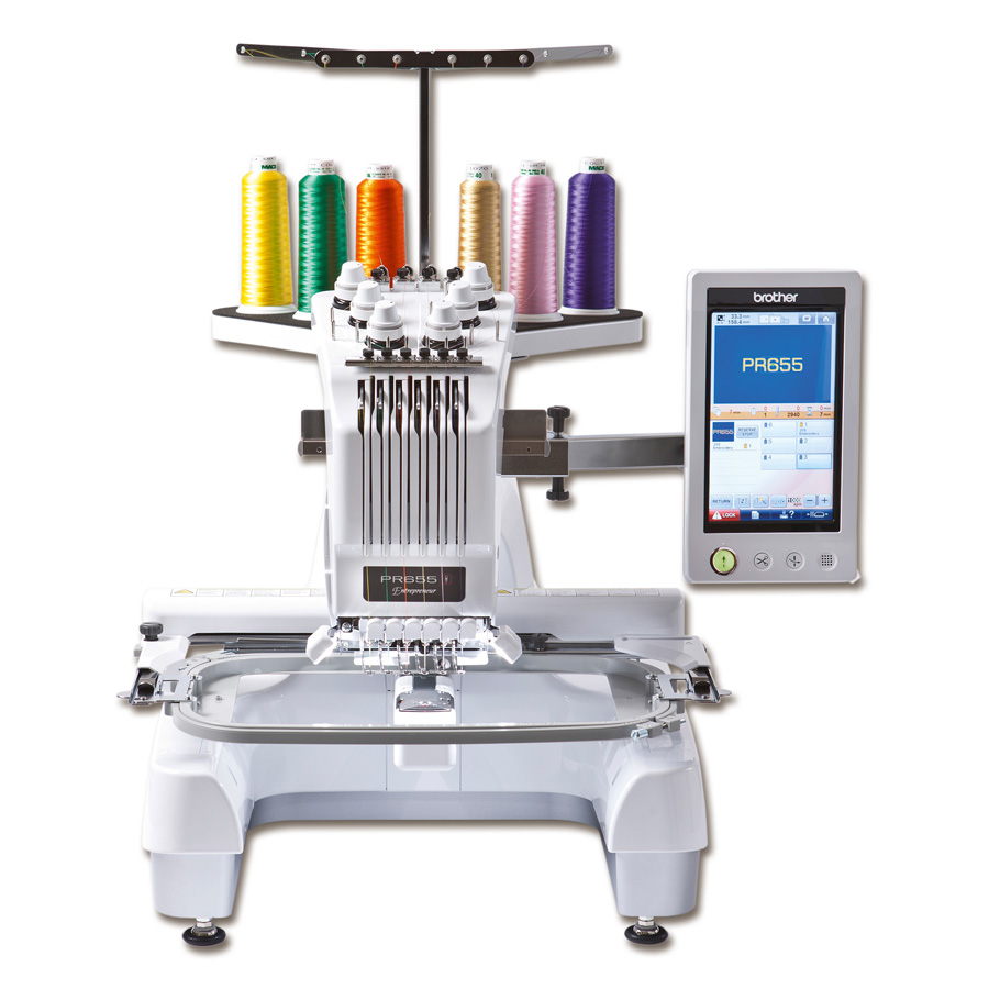 Brother PR655 Embroidery Machine at Bambers Manchester